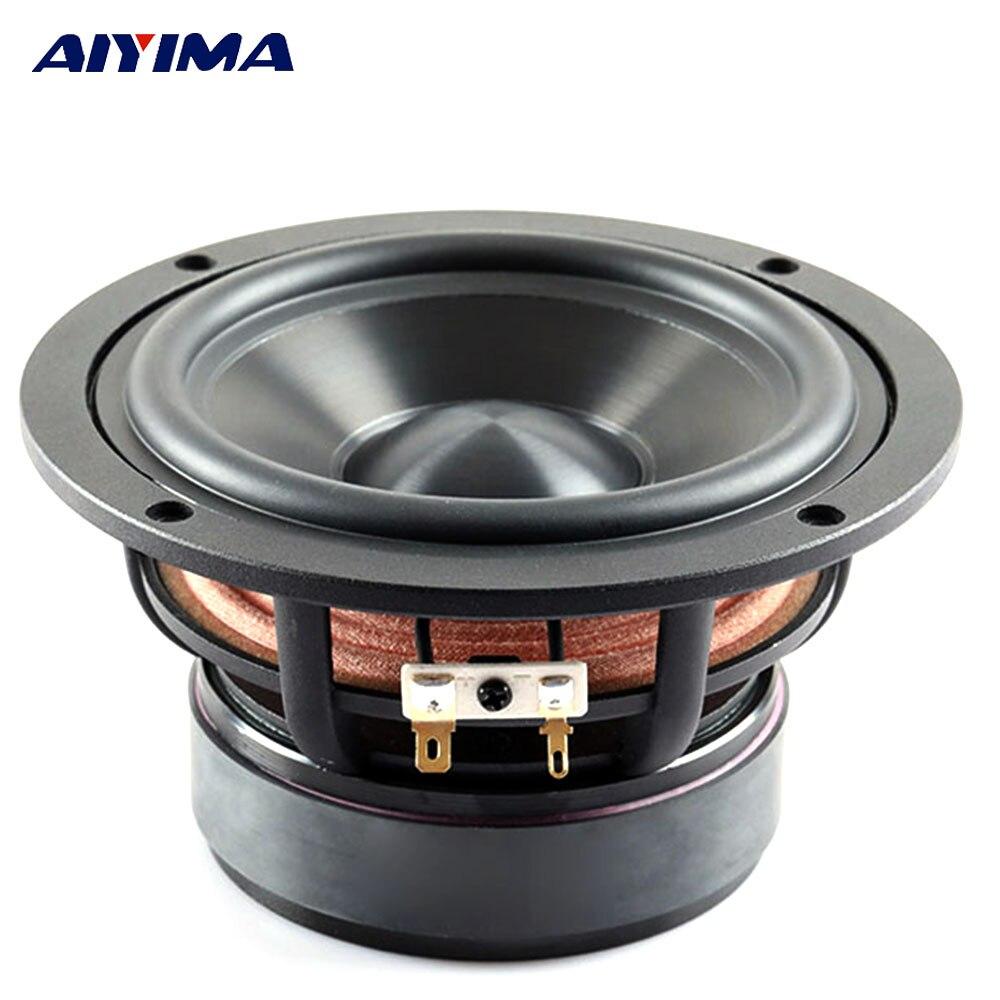 AIYIMA-Altavoz portátil para cine en casa, dispositivo de Audio de 4 pulgadas,...