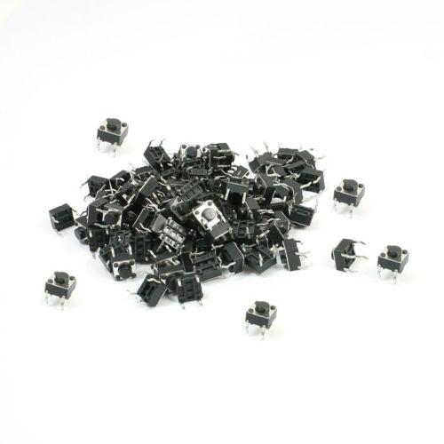 100 piezas Micro interruptor pulsador 6*6*5mm nuevo buena calidad