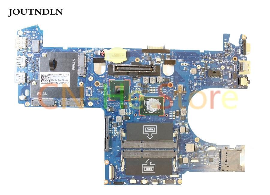 Placa madre portátil JOUTNDLN para Dell Latitude E6220 R97MN 0R97MN CN-0R97MN gráficos integrados W i5-2520M CPU