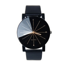 Luxury Brand Leather Quartz Watch Women Men Lovers Fashion Bracelet Wrist Watch meridian Clock relog