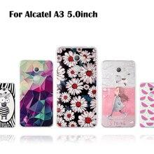 Für Alcatel A3 Fall Für Alcatel A3 5046 5046D 5046X 5046Y Abdeckung Silikon Weiche TPU Capa Für Alcatel EIN 3 fall Blume Nette Coque