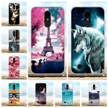 Pour Coque LG K4 2017/LV1 (US) housse animaux pour Funda LG K4 M160 Phoenix 3 5.0