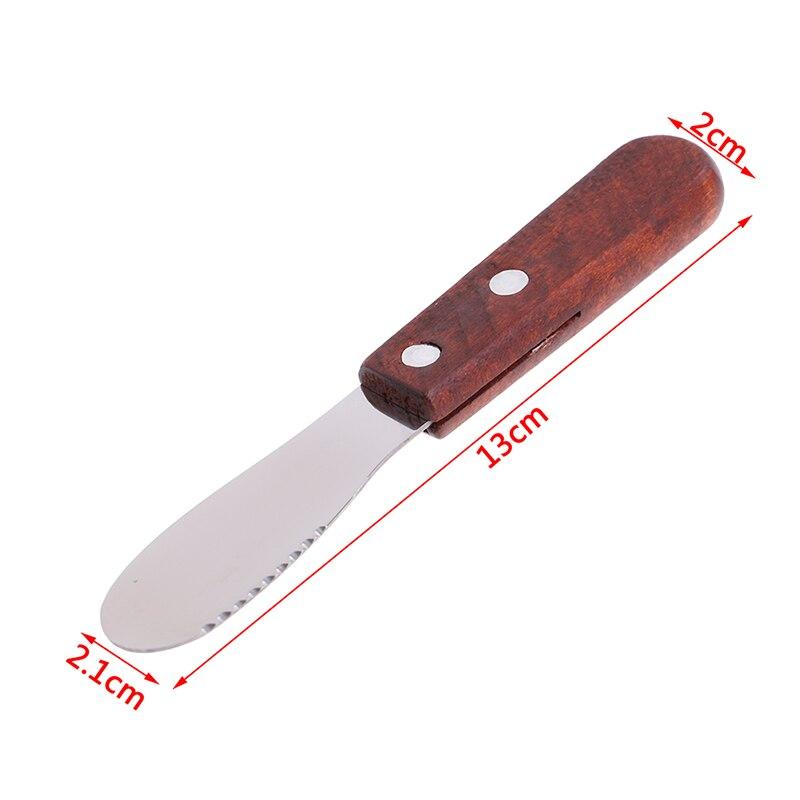 Stainless Steel Cutlery Spatula Butter Knife Scraper Spreader Breakfast Tool Kitchen Accessory