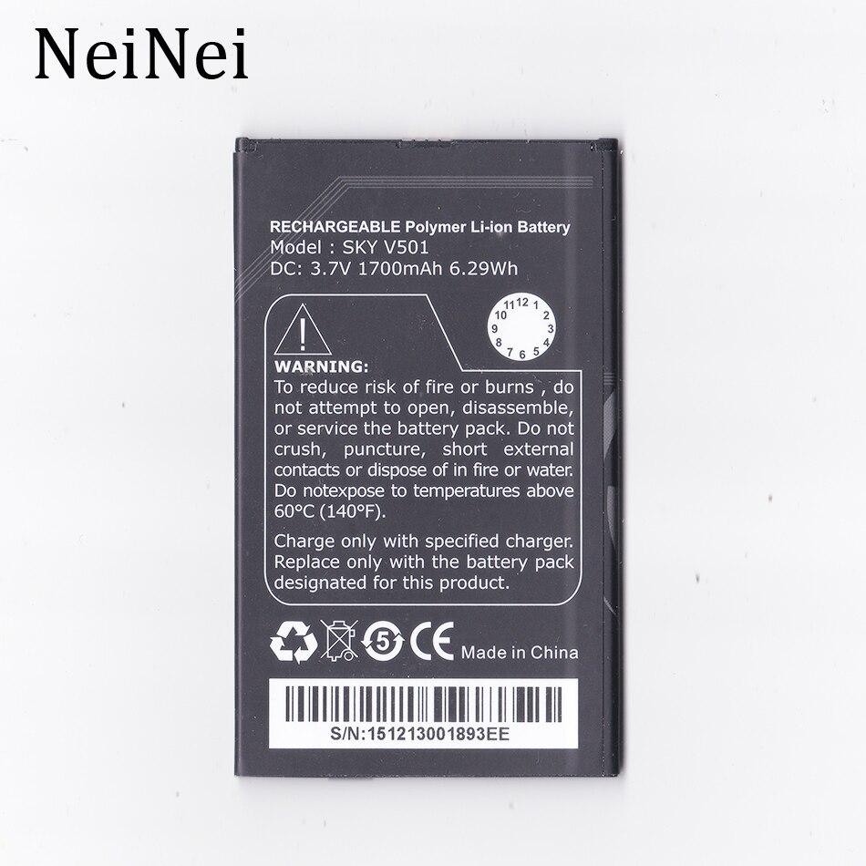 NeiNei 3,7 V 1700 mAh batería para TWINMOS cielo V501