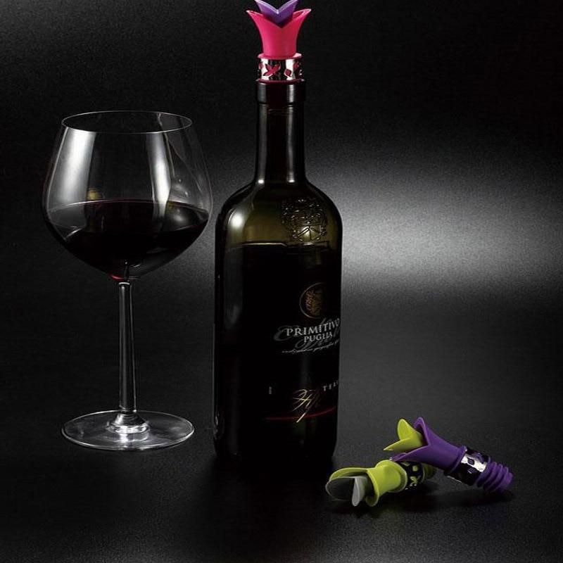 WALFOS силиконовая винная пробка 1 шт многоразовые винные пекары спиртное вино Вино Виски Носик Pourer вино диск бар поставки