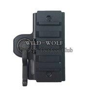 Tactique QD Riser adaptateur de fixation rapide pour 20mm Picatinny Weaver Rail fit for551 552 553 556 557 558 rouge dot chasse