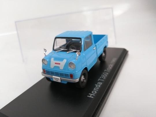 Ni EV 143 Honda T360 camión 1963 aleación modelo coche Diecast Metal juguetes regalo de cumpleaños para niños niño
