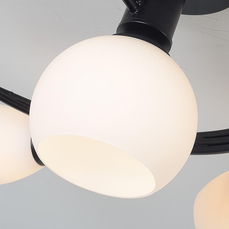 Купить с кэшбэком Artpad Modern LED Chandelier Ceiling Lamp Indoor Illuminate Lighting American LED Living Room Bedroom Childern Ceiling Lights