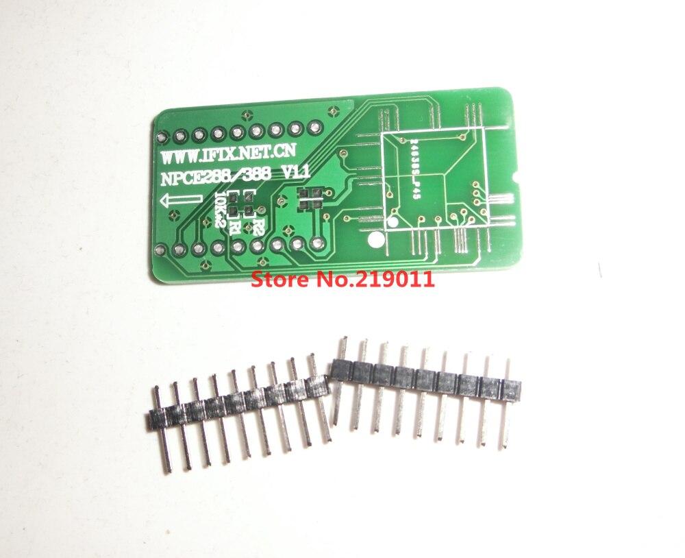 NPCE288 NPCE388 офлайн плата для чтения и записи PCB адаптер для RT809H