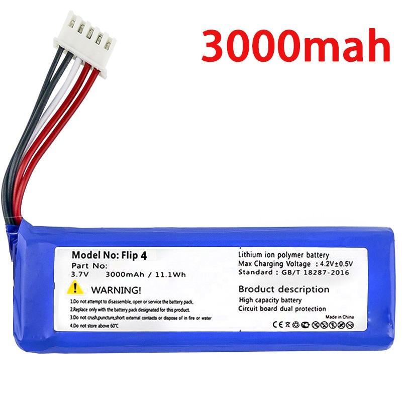 WONKEGONKE 3000mAh Battery GSP872693 01 for JBL Flip 4, Flip 4 Special Edition flip4 tracking number