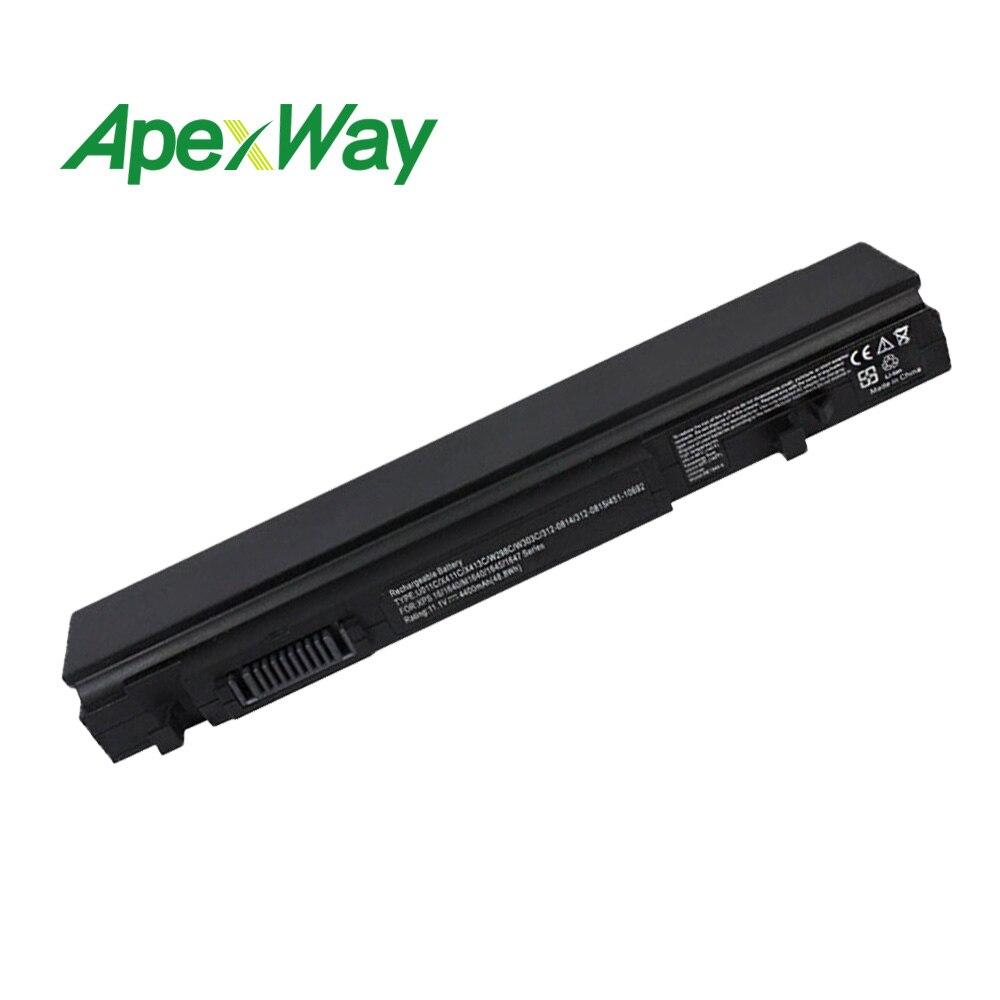 ApexWay 4400mah 6 celdas, 10,8 V batería del ordenador portátil para DELL Studio 16 portátil XPS 16 1640n 1645n 1647n 0R720C 0X413C W267C R720C U011C