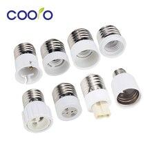 Конвертер ламп E27 Male к E12 E14 E40 B22 MR16 G4 G9 GU10 гнездовой цоколь лампы для лампочка внутреннего освещения Удлинительный адаптер