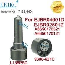 ERIKC buse dinjecteur de carburant   9308-621C + buse L138PBD kit de réparation 7135-649 pour linjection de carburant EJBR04601D