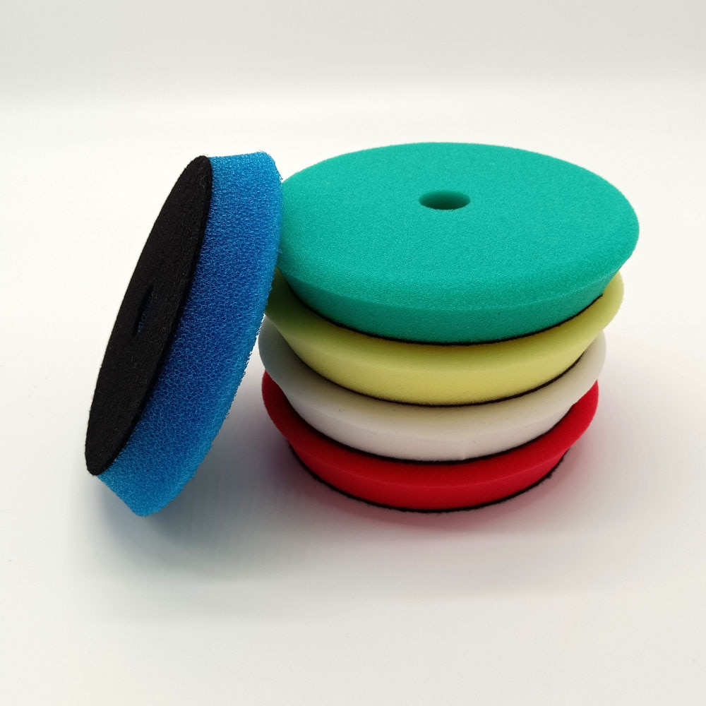 4/6/7 Inch Polish Pad Europe Sponge Different Hardness Polishing Car Sponge Pad For Dual Action polisher enlarge