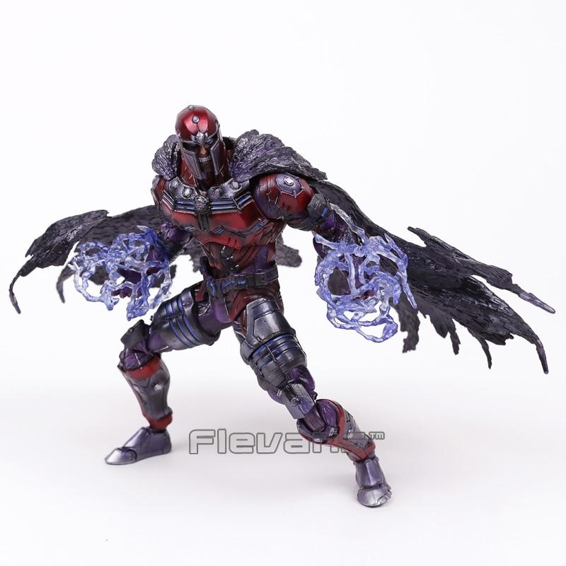 Marvel Universe VARIANT PLAY ARTS KAI X-men Magneto PVC Action Figure Collectible Model Toy 25cm