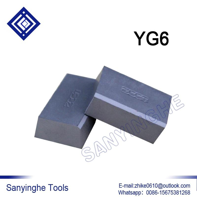 Envío gratis de alta calidad sanyinghe 4 unids/lote A170 YG6/YG8 de soldadura insertar