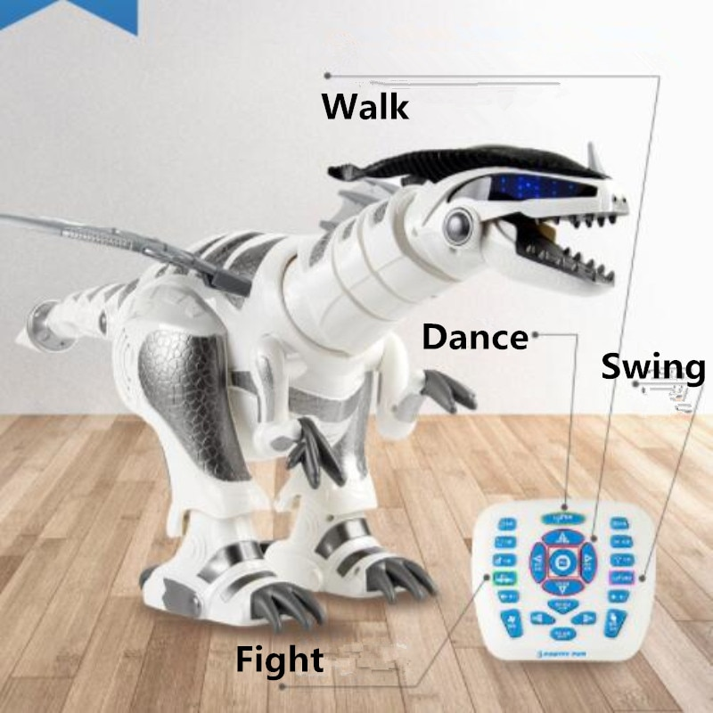educational toy Remote Control Robot Dinosaur Toy Dancing Walking Speaking Fighting Singing Touch swing child Learning Toy gifts enlarge