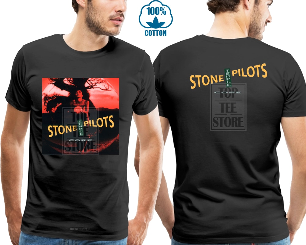Stp Stone Temple Pilots * Основной альбом рок-группы Мужская черная футболка S 4Xl