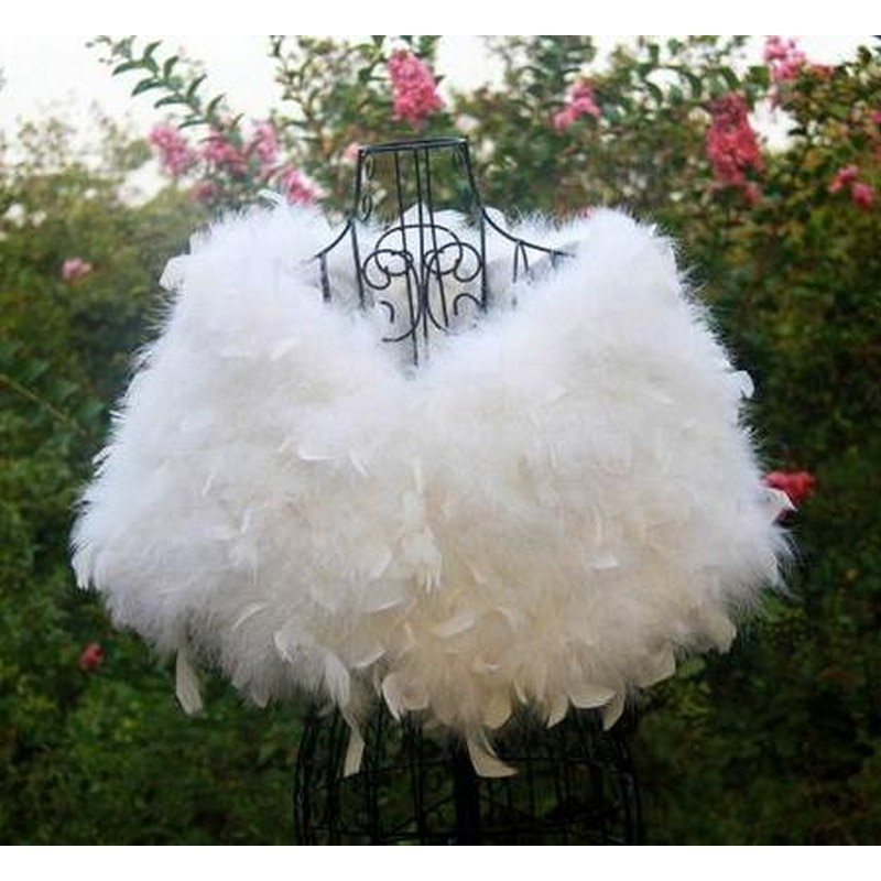 LIYAFUR-فستان وصيفة العروس ، فرو نعام أصلي ، زي حفلات ، معطف