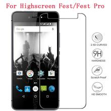 Smartphone Tempered Glass for Highscreen Fest/Fest Pro Explosion-proof Protective Film Screen Protec