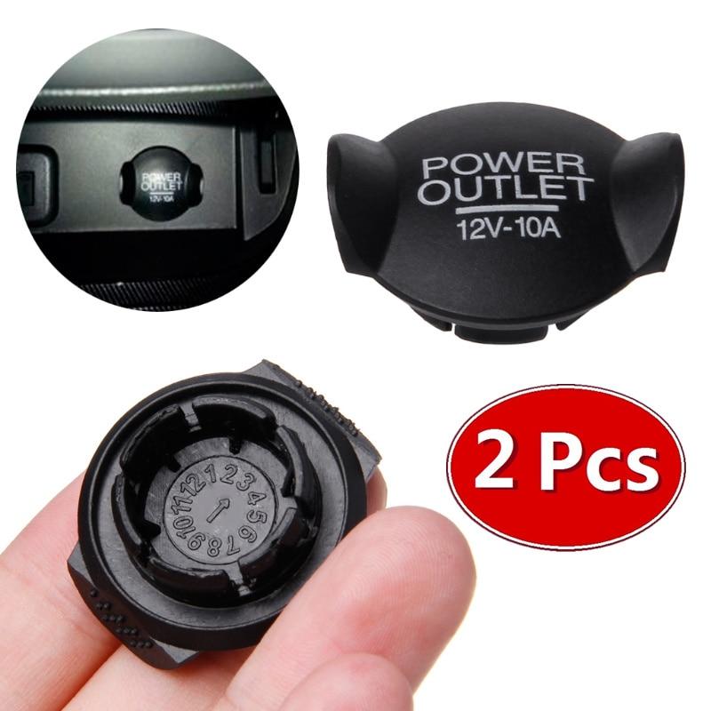 Ansblue 2 шт. Крышка для автомобильного прикуривателя Универсальная автомобильная Зажигалка 12 в 21 мм 2019 для Ford/Focus/Fiesta/Mondeo