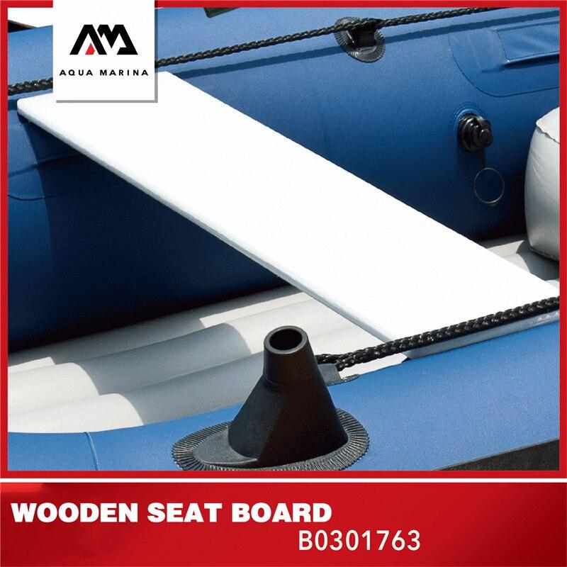 AQUA MARINA Inflatable Kayak Accesries Boat Wooden Seat Board Inflatable Boat Seat Board For Nautical Sport Canoeing 79*18*1.5cm