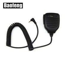 Nouveau Microphone à main haut-parleur micro pour Baofeng UV-3R talkie-walkie à distance haut-parleur Microphone