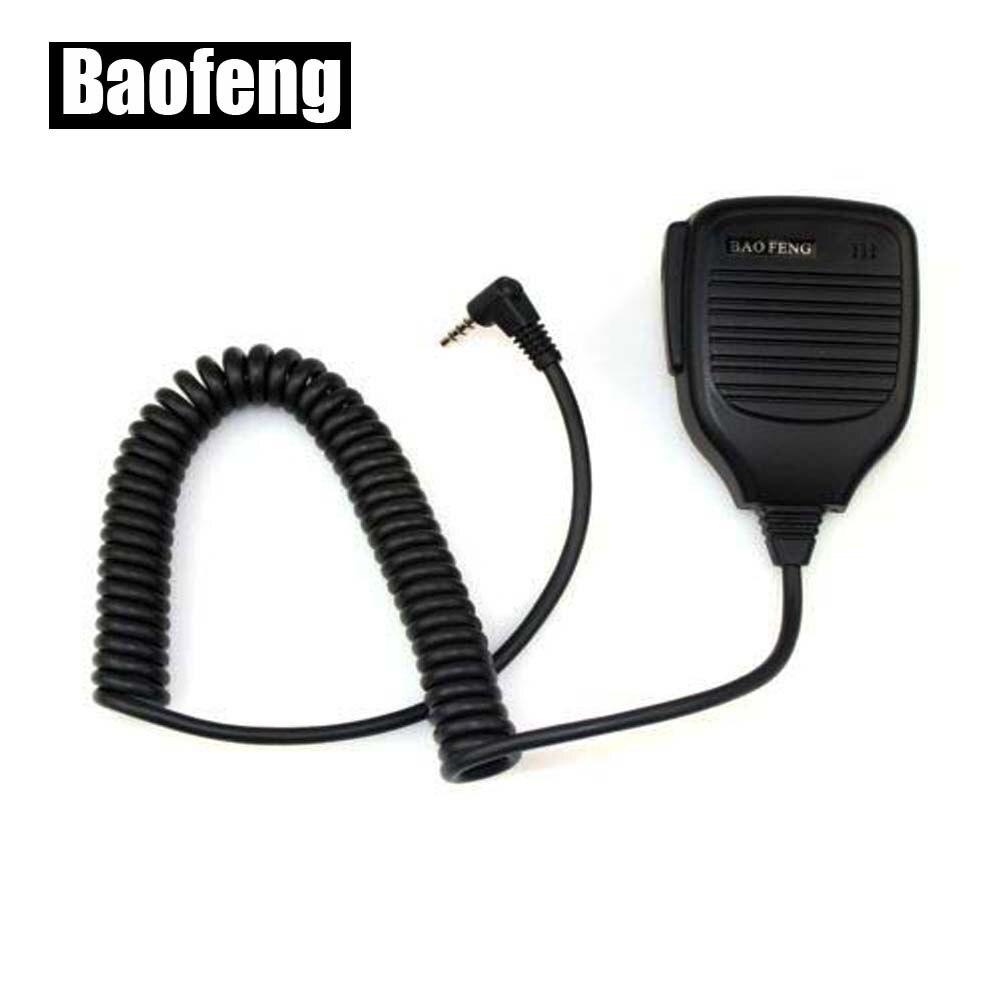 Nuevo micrófono de mano micrófono para Baofeng UV-3R Walkie Talkie altavoz remoto micrófono