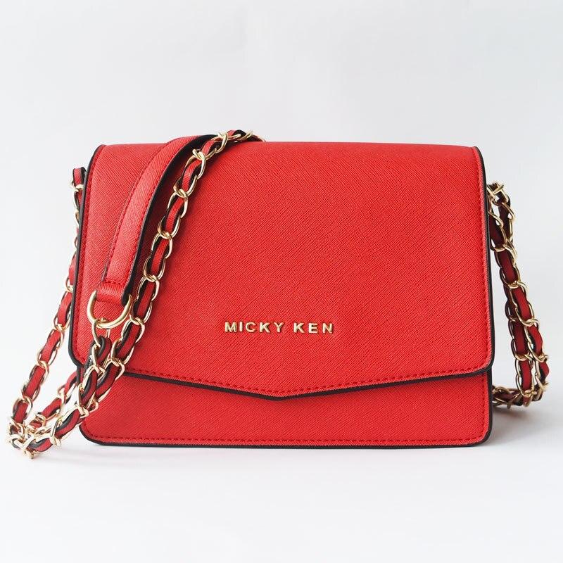 ¡Novedad de 2018! bolsos de mensajero para mujer, bolsos de diseño de alta calidad, bolso de hombro con cadena, bolsos De mujer MICKY KEN