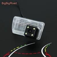 bigbigroad for toyota corolla sedan 2007 2008 2009 2013 car intelligent dynamic trajectory tracks rear view parking ccd camera