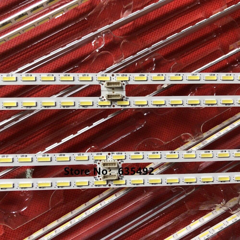 Nuevo 64LED 596mm tira de LED para iluminación trasera Sha rp XBR-55X850C KD-55X8500C 75 P3C08G001 15A09N SYV5541 YLS_HAN55_7020_REV2 HRN55