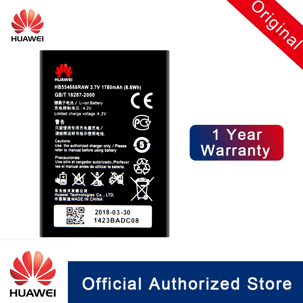 100% Оригинальный аккумулятор HuaWei HB554666RAW для Huawei 4G Lte WIFI роутер E5372 E5373 E5375 EC5377 E5330 запасная батарея для телефона