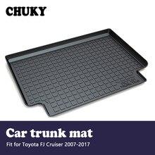 Tapis de coffre arrière antidérapant Toyota FJ Cruiser   CHUKYFor 2007 2008 2009 2010 2011 2012 2013 2014 2017Car, tapis de coffre de cargaison arrière, accessoires antidérapants
