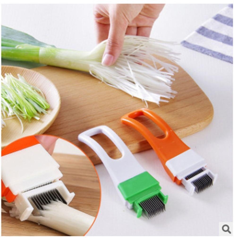 Utensilio de cocina para cortar cebollas Meijuner, utensilio de cocina para picar cebollas verdes, utensilio de cortar para restaurante, cantina, hogar, café