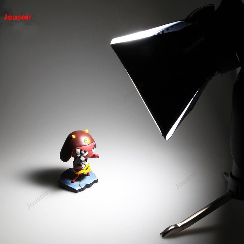 Máquina de capó flexo con luz de relleno LED, cubierta flexo para flash, pequeño foco de estudio, lámpara de captura caja de luz suave CD50 T07