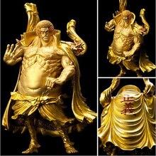 Новая популярная Коллекция игрушек 17 см Sengoku golden One piece, Рождественский подарок с коробкой
