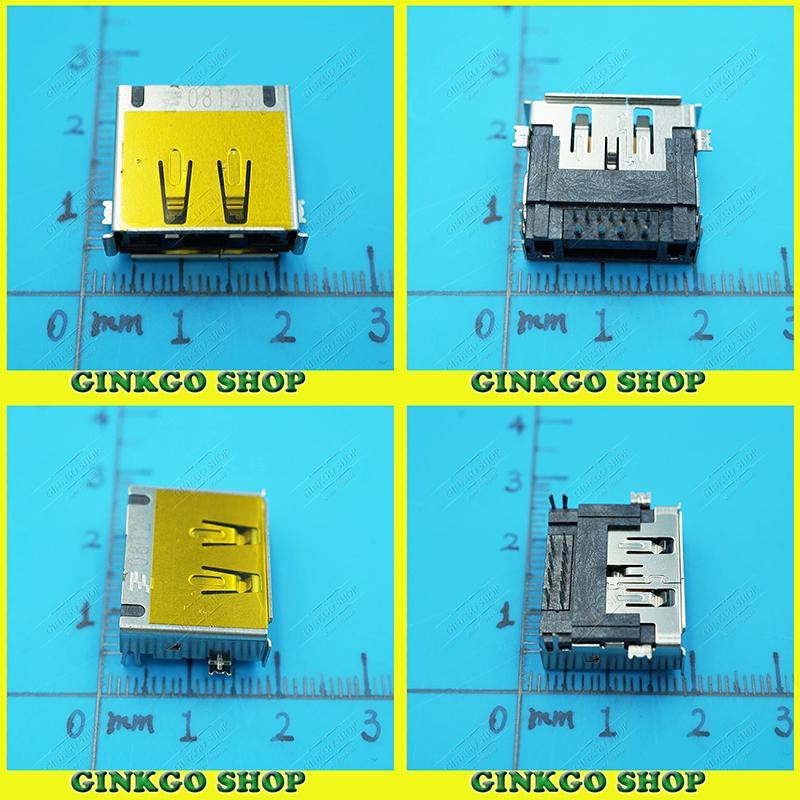 50 sztuk/partia Oryginalny Nowy Laptop płyty głównej eSATA Combo ESATA USB interfejs USB Jack Złącze Commun Korzystanie Bezpłatna wysyłka