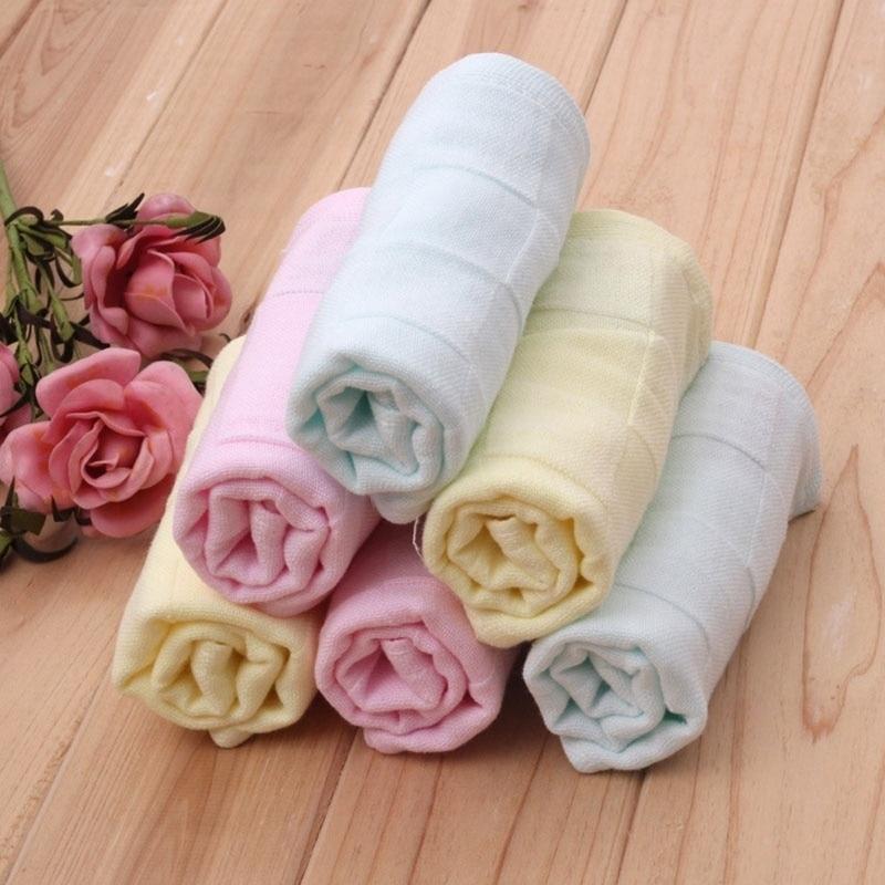 1pcs Gauze  Square Cotton Bath Wash Towel Handkerchief WJWYYJ803