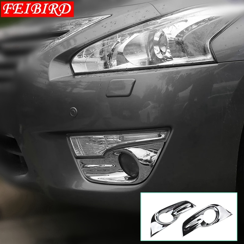 Accesorios para Nissan Teana / Altima 2013 2014 2015 ABS niebla delantera Exterior/luz para faro trasero moldura cubierta embellecedora
