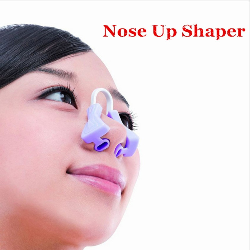 beauty tools to enhance the nose correction beauty clip facial clipper correction tool correction beauty nose clip two piece 1PCS New Beauty Nose Up Shaping Shaper Clip Clipper Bridge Straightening Lifting Nose Clip Corrector Makeup Facial Care Tool