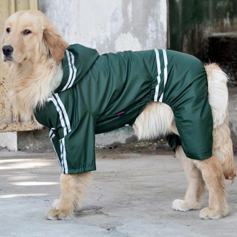 Hund Regenmantel Kunststoff Regen Abdeckung Leichte Solide Wasserdicht Welpen Regen Mantel