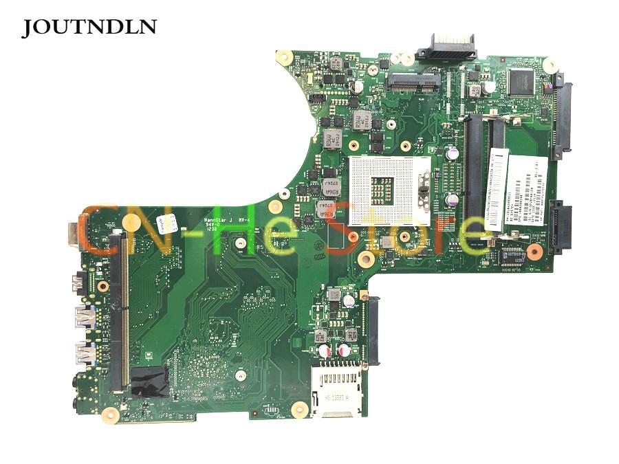 Placa base para ordenador portátil serie JOUTNDLN para Toshiba qosmio X875 V000288290 una ranura gráfica discreta