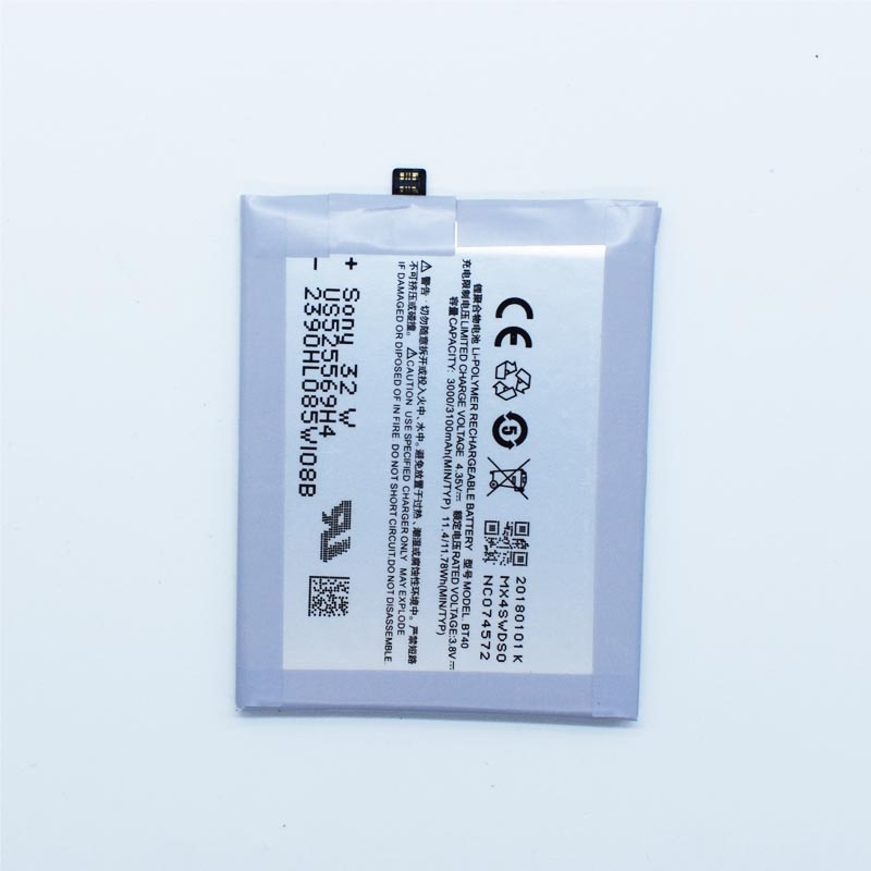 Hekiy Новая высококачественная батарея BT40 для Meizu MX4 3000 ~ 3100mAh Аккумуляторы мобильных
