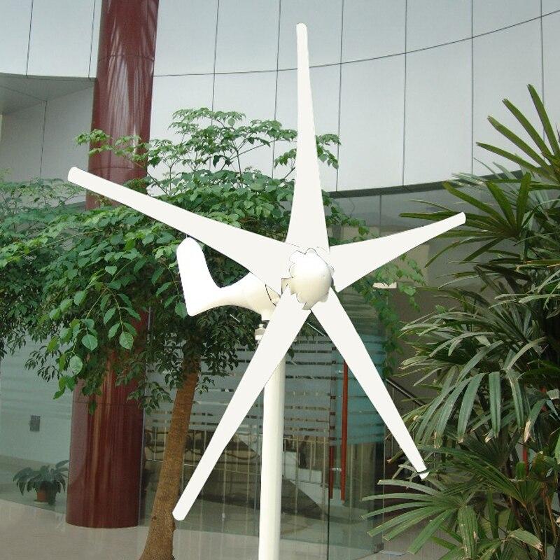 سعر المصنع ، الرياح الصغيرة مولد تربيني 400 واط ماكس 600 واط 3/5 شفرات طاحونة الرياح الصغيرة منخفضة بدء تشغيل مولد الرياح