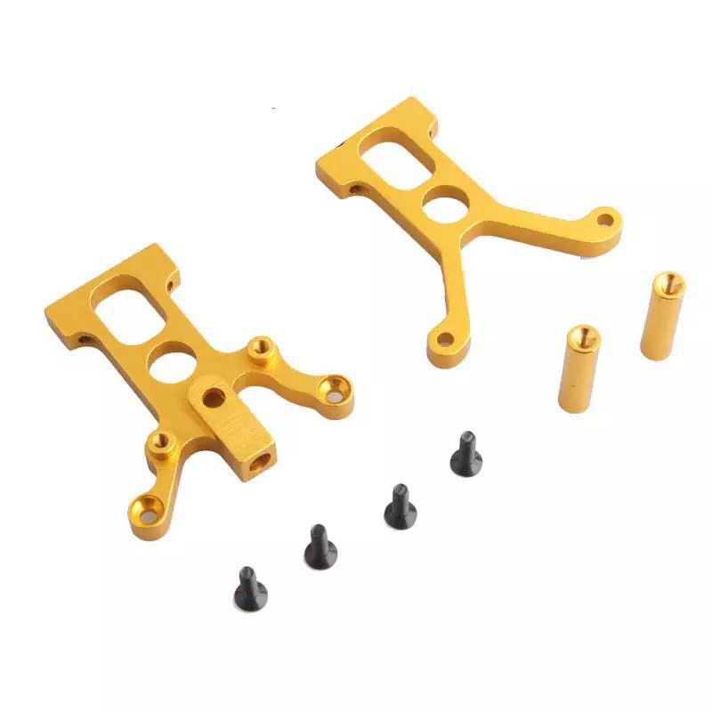 1pcs HSP 102025 Aluminum Alloy Center Differential Fixed Mount/Post/Seat Metal Upgraded Parts for HSP 1/10 RC Model Oil Cars enlarge