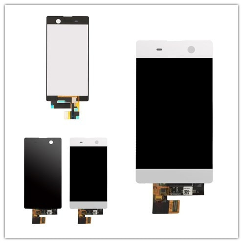 For Sony Xperia M5 LCD Display + Touch Screen + Frame Digitizer Assembly E5603 E5606 E5653 For SONY M5 LCD Replacement Parts недорого