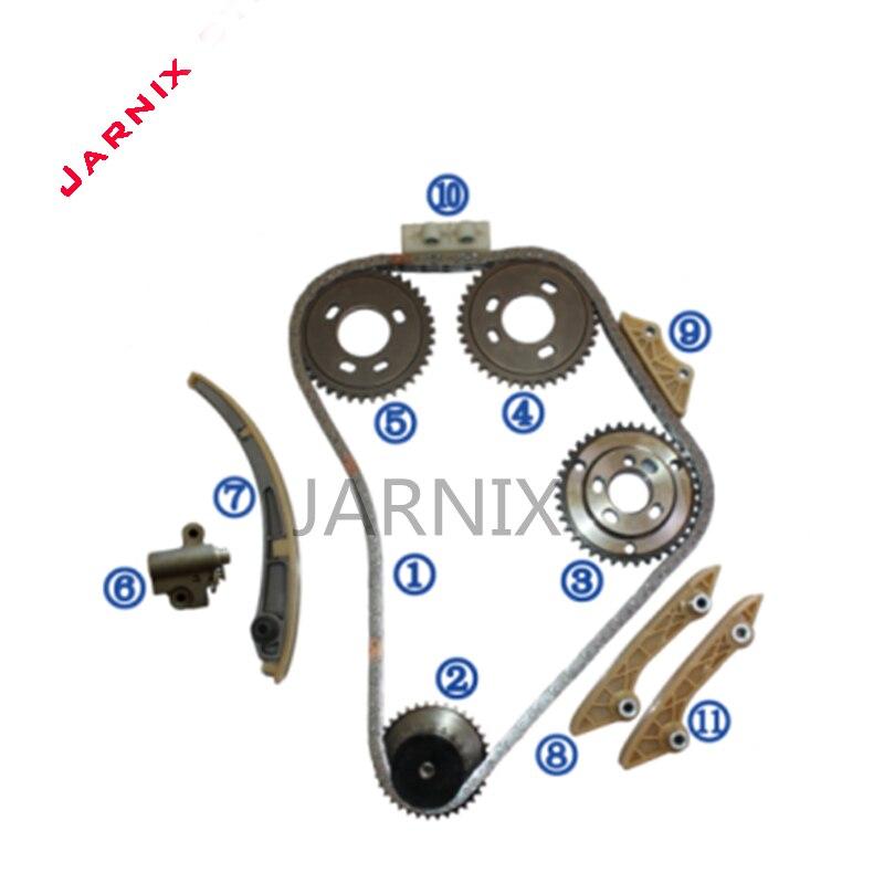 Engine Timing Chain Kit For Jiangling Quanshun 2.0L/2.2L/2.4L V.184 120PS  OEM YC1Q6268AA  YC1Q6306CA