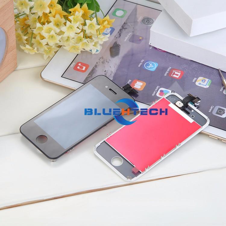 Dla iphone 4s ekran wyświetlacz lcd ekran dotykowy digitizer zgromadzenie części zamienne telefon lcd lcd do telefonów komórkowych/czarny biały 4