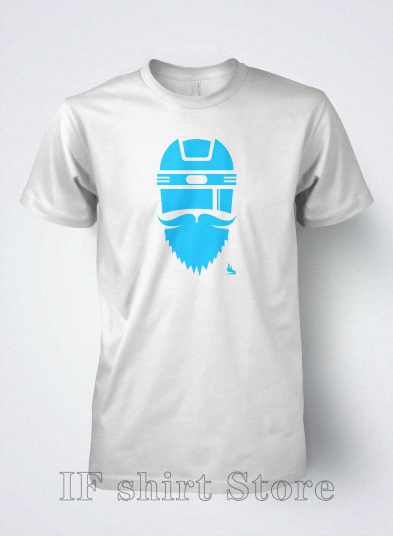 Хоккейная Футболка мужская Playoff Beardo by Scrappers Hockey 100% хлопковая забавная Мужская футболка с рисунком женские футболки