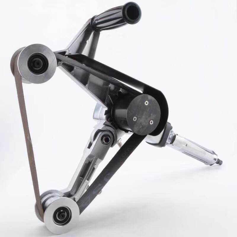 MY604 الهوائية حزام الرملي آلة متعددة وظيفة الهوائية أداة جولة أنبوب آلة دوارة من الفولاذ المقاوم للصدأ هوائي آلة تلميع
